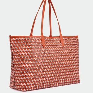 I Am A Plastic Bag Tote Recycled Coated Canvas